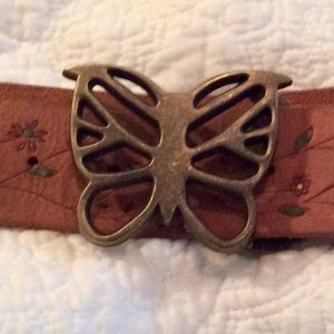 Mint condition LUCKY BRAND butterfly belt